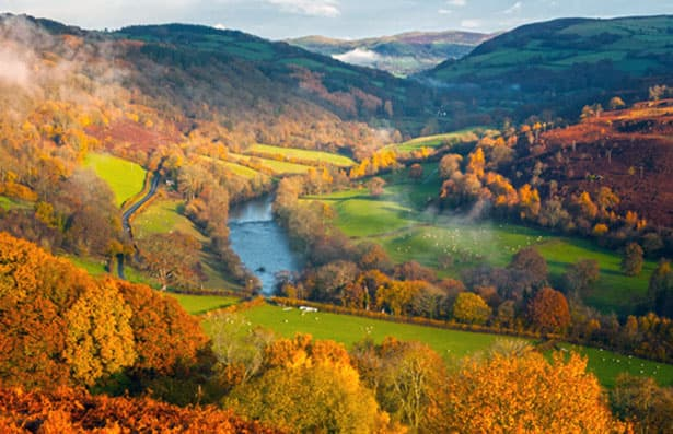 Wye Valley Motorhome hire Campsites